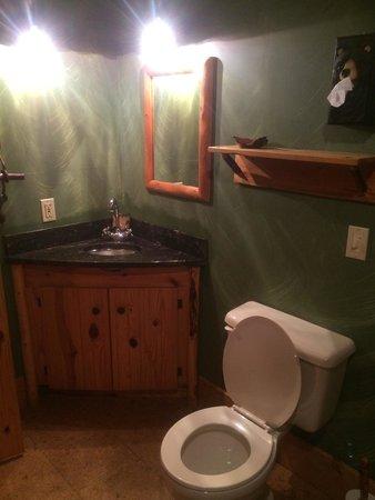 Bear Necessities B&B: Bathroom