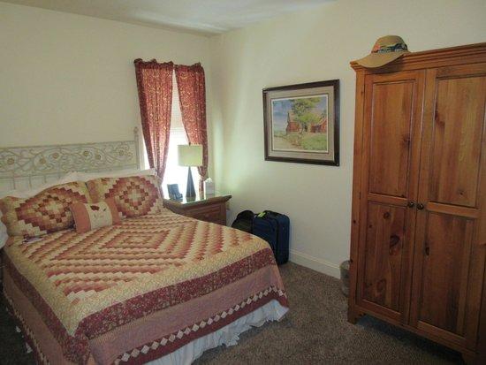 James Gettys Hotel: Keystone Suite - bedroom