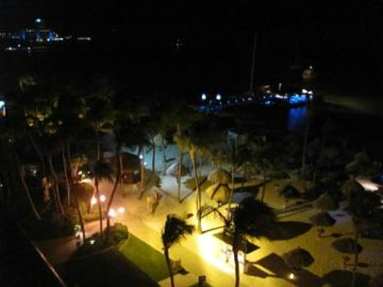 Hyatt Regency Aruba Resort and Casino : From room 745