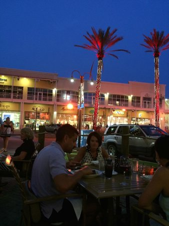 Villaggio Grille: View from the outside dining area