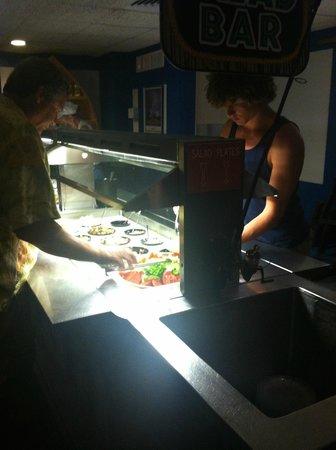 Snook Inn : salad bar