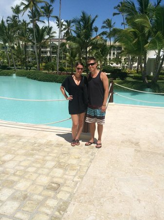 Iberostar Grand Hotel Bavaro: Near the ship