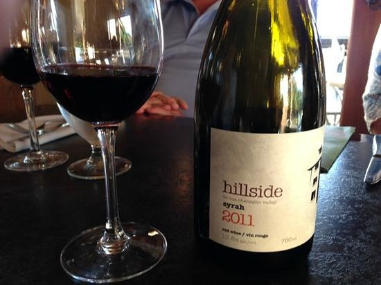 The Bistro at Hillside Winery: Syrah