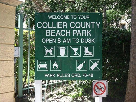 South Marco Beach: beach hours