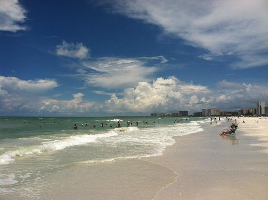 South Marco Beach: large sand area