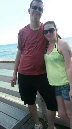Joe's Crab Shack: Beautiful view with my man