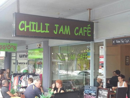 Chilli Jam Cafe: Great Cafe in Caloundra