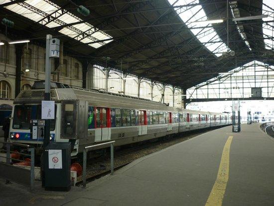 Interior de la Gare St. Lazare