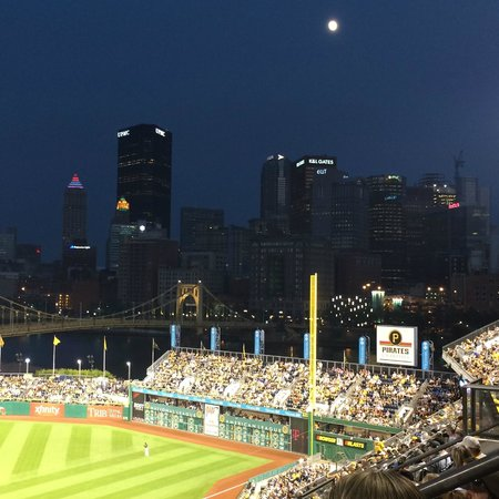 PNC Park at night