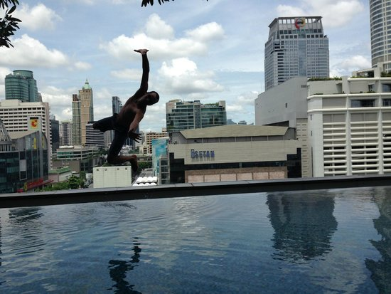 Novotel Bangkok Platinum Pratunam : Et plouf ...