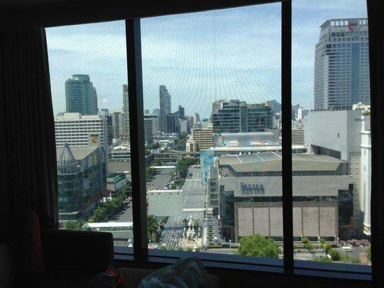 Novotel Bangkok Platinum Pratunam: Panorama sur Bankok city