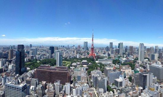 Skydeck - Bild von Tokyo City View Observation Deck (Roppongihills), Minato -...
