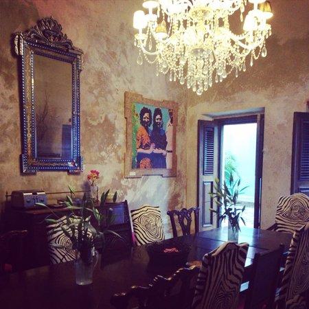 Villa Herencia: Dining room