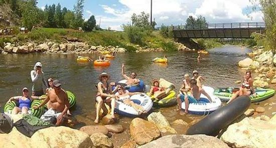 Steamboat Campground : Having fun on the Yampa!