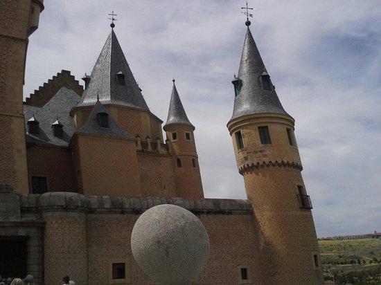 Pullmantur Bus : Segovia Castle