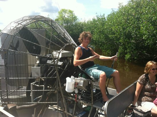 Jungle Erv's Everglades Airboat Tours: Photo opportunity