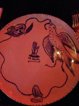 Motel Mexicola: plate