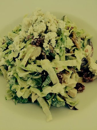 Getty Center Restaurant: Cobb salad (don't know why I had some weird filter on this pic!)