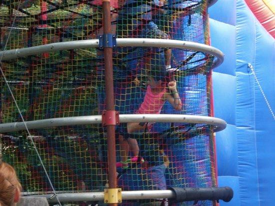 Jiminy Peak Mountain Resort: Aeral Park younger children zone