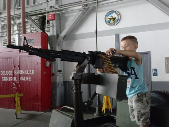 Naval Air Station Wildwood Aviation Museum : its a hands on experience for kids of all ages