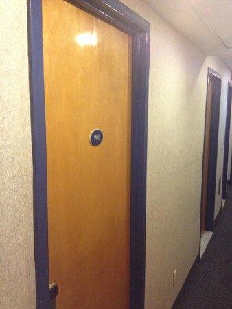Park Savoy: Room entrance