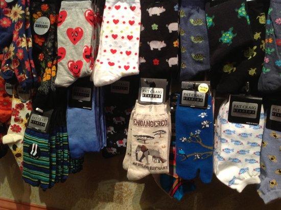 Sock selections @ Pat Craig Studios