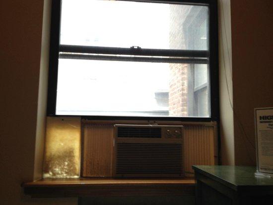 Park Savoy: Window