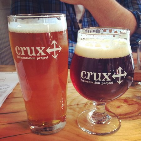 Crux Fermentation Project: Great beer