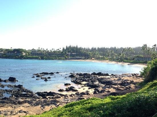 Napili Shores Maui by Outrigger : Napili Bay from the Gazebo restaurant