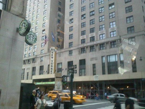 The New Yorker A Wyndham Hotel : Fachada