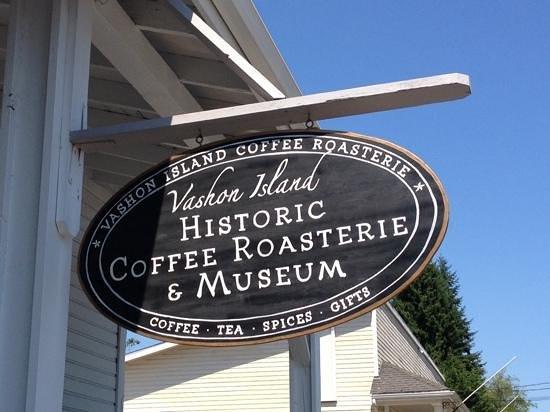 Vashon Island: grab some coffee!