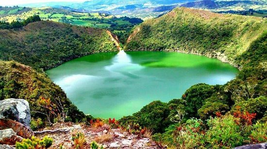 Image result for laguna de guatavita