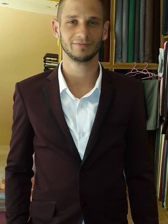 Ash Tailor Samui: designer slim fit suit