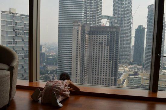 Grand Hyatt Kuala Lumpur: ツインタワーデッサン
