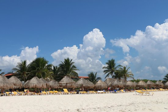 Iberostar Paraiso Maya: pleasant weather
