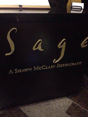 Sage Restaurant : Reception