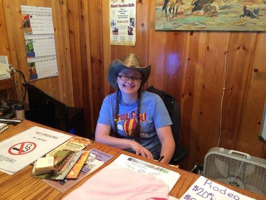 The Historic UXU Ranch: Lauren