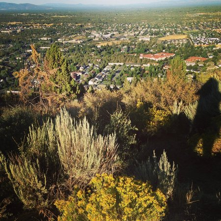 Pilot Butte State Scenic Viewpoint: View from the top
