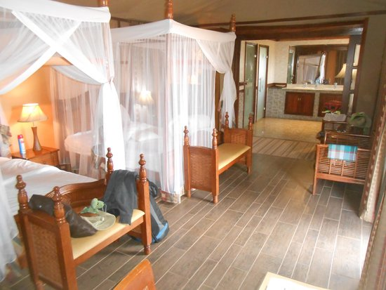 Kilima Safari Camp : Clean nicely kept rooms