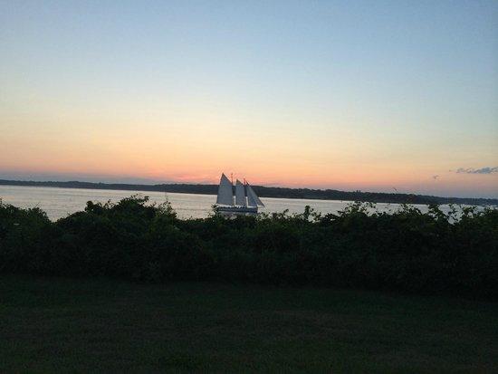 Artful Lodger Inn: View from park