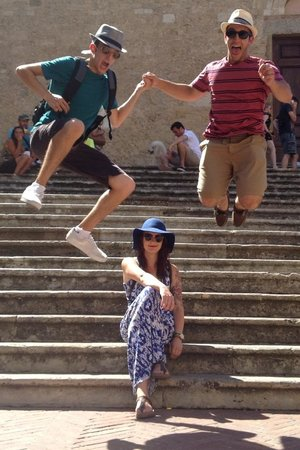 Caf Florence, Tuscany & Italy Tours : HAPPY TO BE ON A CAF TOUR WITH ANTONELLA '