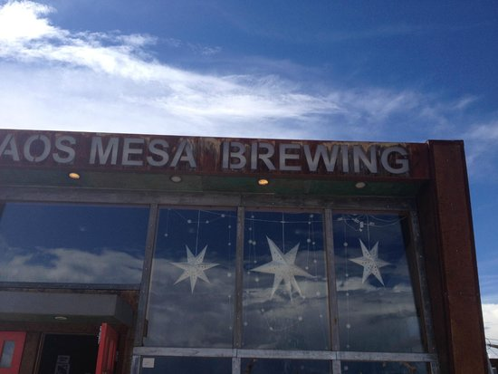 Taos Mesa Brewing: Entrance