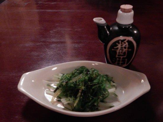 Hokkaido Sushi Bar and Japanese Restaurant: seaweed salad earned an A+