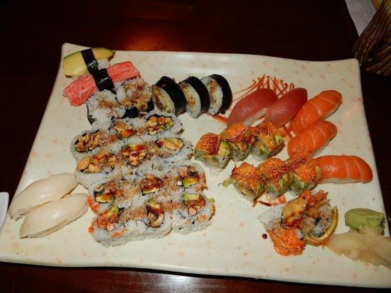 Hokkaido Sushi Bar and Japanese Restaurant: fabulous all-you-can-eat sushi