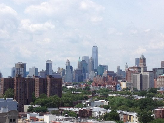 Fairfield Inn & Suites New York Brooklyn: View from roof top