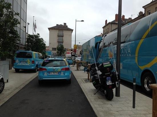 "Hotel Nancy Centre Gare : best part of hotel.. ""asanta"" tour de france  team stayed here."