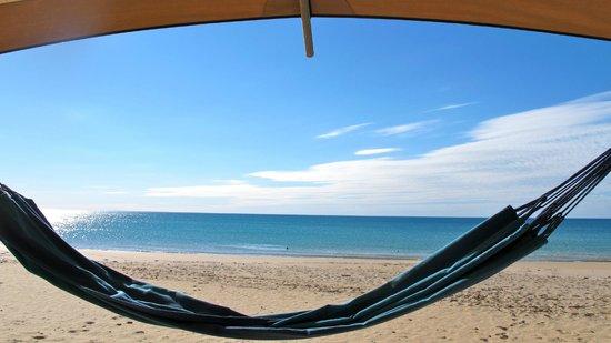 Ramada Eco Beach Resort: On the beach from the Hammocks