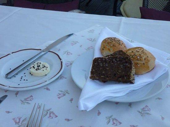 Questenberk: Our breads at dinner.