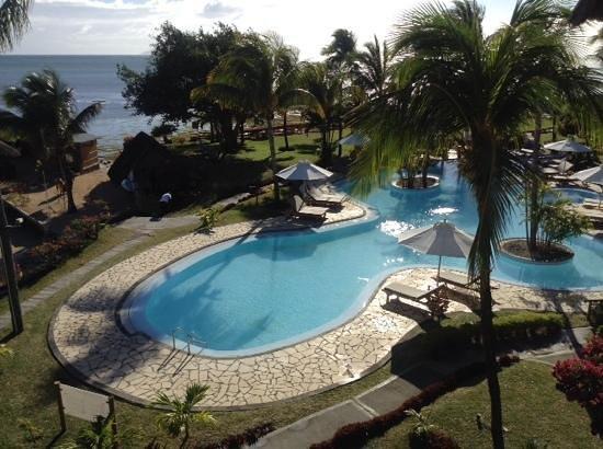 Veranda Paul & Virginie Hotel & Spa : view from our room 227