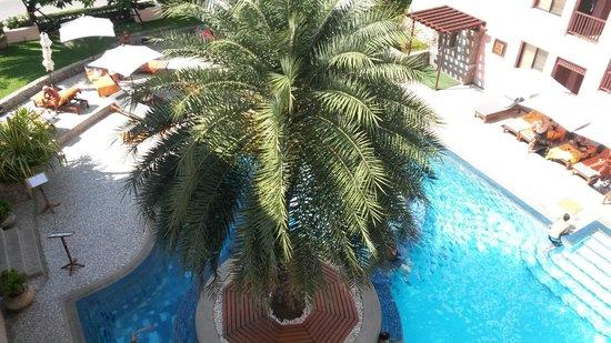 Seaview Patong Hotel: вид с 4 этажа